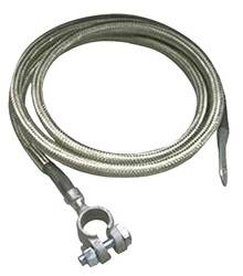 Taylor Cable - Taylor Cable 20015 Stainless Braided Diamondback Shielded Battery Cable - Image 1