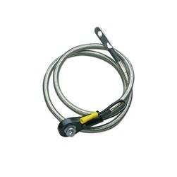 Taylor Cable - Taylor Cable 20241 Stainless Braided Diamondback Shielded Battery Cable - Image 1