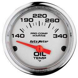 AutoMeter - AutoMeter 200764-35 Marine Electric Oil Temperature Gauge - Image 1
