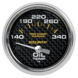 AutoMeter - AutoMeter 200764-40 Marine Electric Oil Temperature Gauge - Image 1
