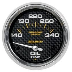 AutoMeter - AutoMeter 200765-40 Marine Electric Oil Temperature Gauge - Image 1