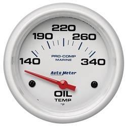 AutoMeter - AutoMeter 200765 Marine Electric Oil Temperature Gauge - Image 1