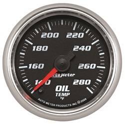 AutoMeter - AutoMeter 19640 Pro-Cycle Oil Temperature Gauge - Image 1