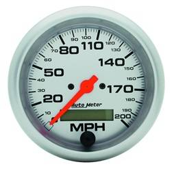 AutoMeter - AutoMeter 4486 Ultra-Lite In-Dash Electric Speedometer - Image 1