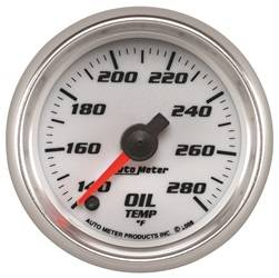 AutoMeter - AutoMeter 19740 Pro-Cycle Oil Temperature Gauge - Image 1