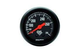 AutoMeter - AutoMeter 2609 Z-Series Mechanical Oil Temperature Gauge - Image 1