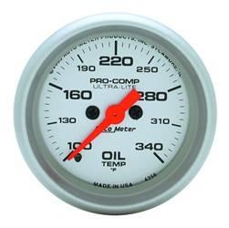 AutoMeter - AutoMeter 4356 Ultra-Lite Electric Oil Temperature Gauge - Image 1