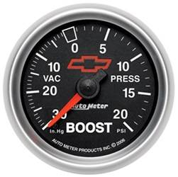 AutoMeter - AutoMeter 3607-00406 GM Series Mechanical Boost/Vacuum Gauge - Image 1