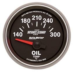 AutoMeter - AutoMeter 3648 Sport-Comp II Electric Oil Temperature Gauge - Image 1