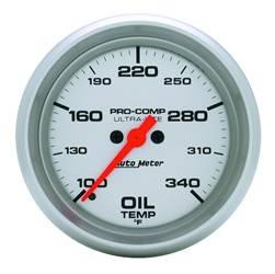 AutoMeter - AutoMeter 4456 Ultra-Lite Electric Oil Temperature Gauge - Image 1