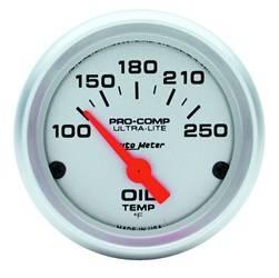 AutoMeter - AutoMeter 4347 Ultra-Lite Electric Oil Temperature Gauge - Image 1