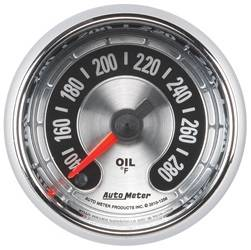 AutoMeter - AutoMeter 1256 American Muscle Engine Oil Temperature Gauge - Image 1