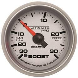 Auto Meter - Auto Meter 8959 Ultra-Lite Pro Boost/Vacuum Gauge - Image 1