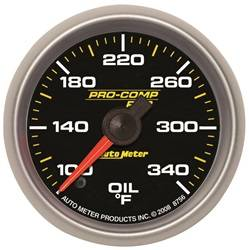 Auto Meter - Auto Meter 8656 Pro-Comp Pro Oil Temperature Gauge - Image 1