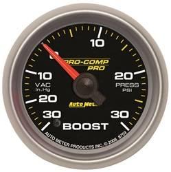 Auto Meter - Auto Meter 8659 Pro-Comp Pro Boost/Vacuum Gauge - Image 1